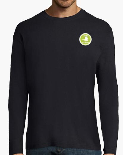 Tee-shirt deux royaumes lagon logo vert et blanc