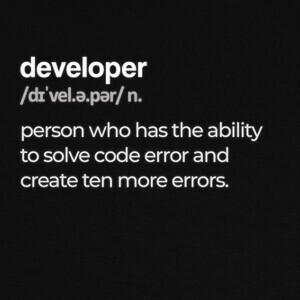 Camisetas Developer