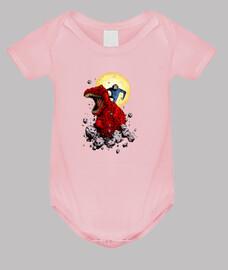 Devil Dinoraur and Moonchild babys