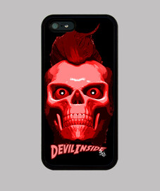 devil inside skull rocker