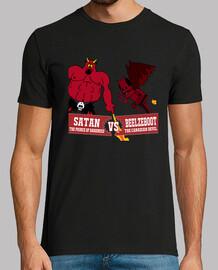 Devils fighting