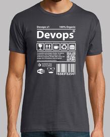 Devops Barcode white