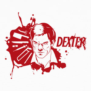 Camisetas Dexter blood