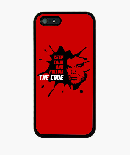 Coque iPhone dexter: keep calm and follow le code