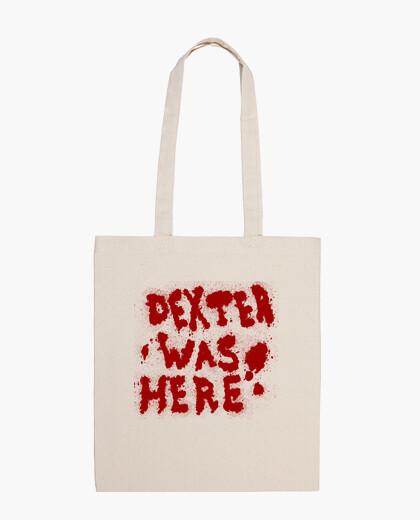 Dexter was here! bag