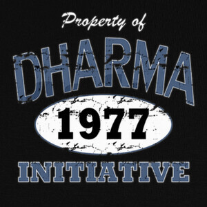 Camisetas Dharma 1977 Initiative