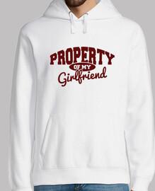 di proprietà of mia ragazza