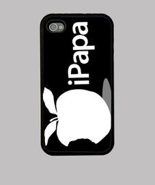 Día del Padre - iPapa (blanco sobre negro)