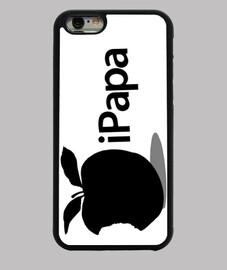 Día del Padre - iPapa (negro sobre blanco)