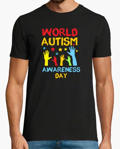 Camiseta día mundial del autismo