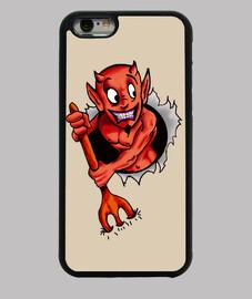Diablillo Funda iPhone 6, negra