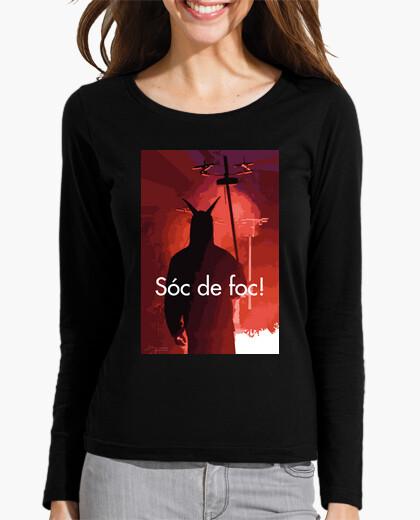 Camiseta Diablo de fuego