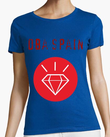 Tee-shirt diamant cercle