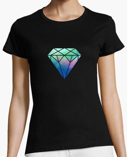Tee-shirt Diamant galaxy