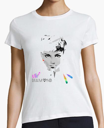 Camiseta Diamond Audrey