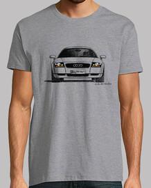 """Dibujo con boli a mano alzada, con la """"mirada"""" del Audi TT"""