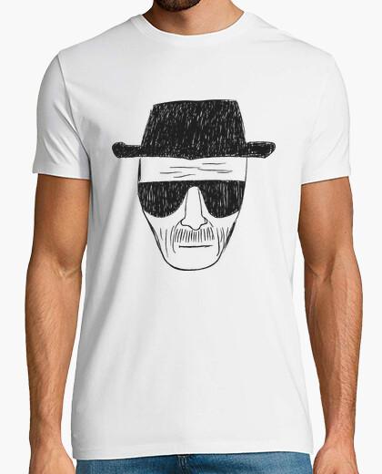 Camiseta dibujo heisenberg