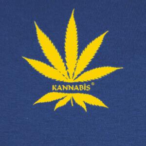 Tee-shirts dibujo nº 878890 logo kannabis amarillo