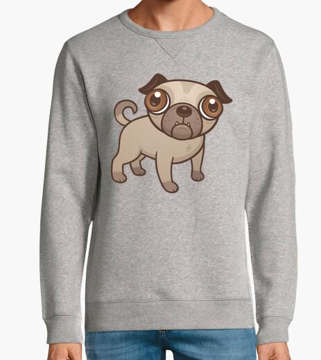 Jersey dibujos animados de cachorro de pug