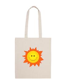 dibujos animados sonriente feliz sol