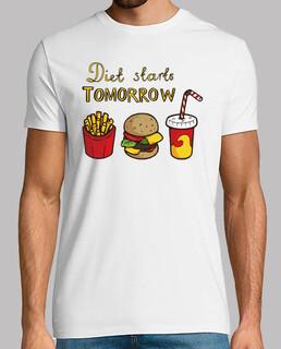 die diät beginnt morgen