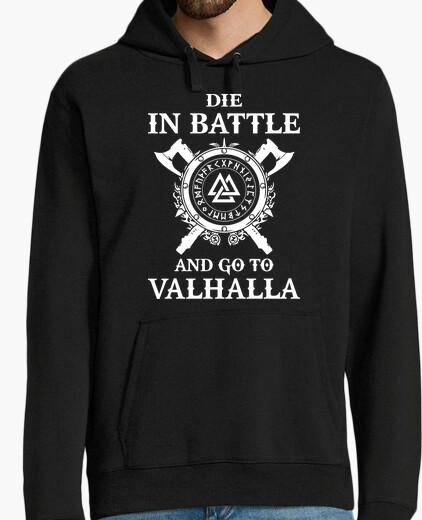 Felpa die in battaglia ... (vikings)
