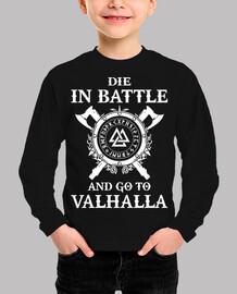 die in battle  (vikings)