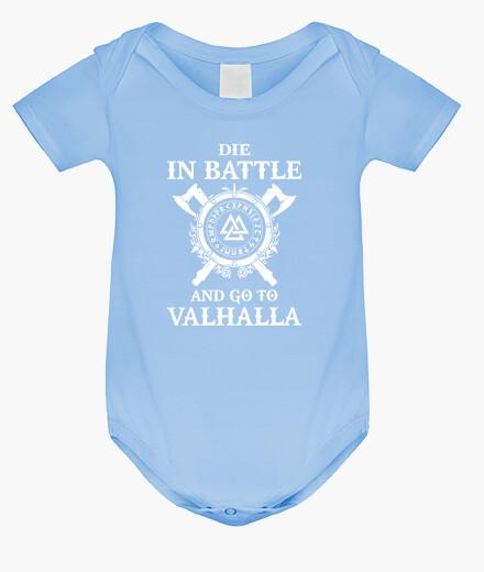 Ropa infantil Die in Battle... (Vikings)