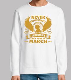 Die Kraft des im März geborenen Mensche