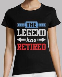 Die Legende hat sich zurückgezogen