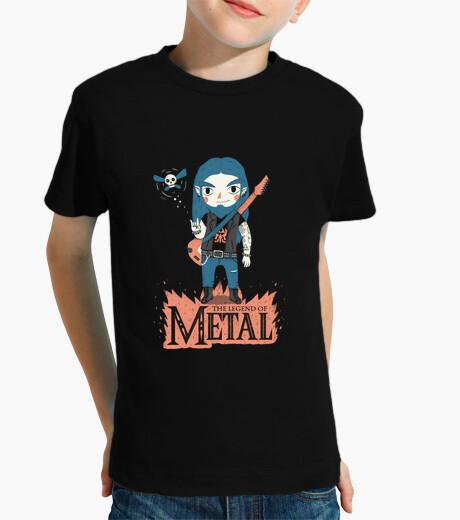 Kinderbekleidung die legende von metal