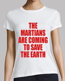 die marsianer kommen, um die erde zu retten