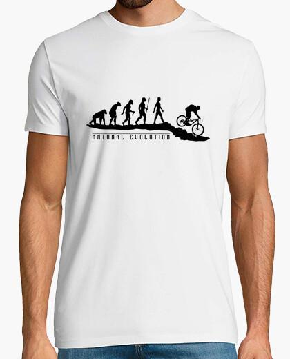 T-Shirt die natürliche evolution mtb
