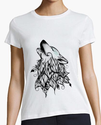 T-Shirt die wolf