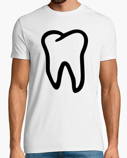 Camiseta diente dientes logo
