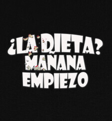 Camisetas dieta