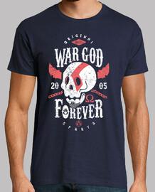 dieu de la guerre pour toujours