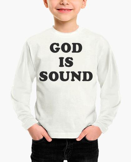 Vêtements enfant dieu est sain