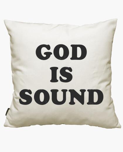 Housse de coussin dieu est sound