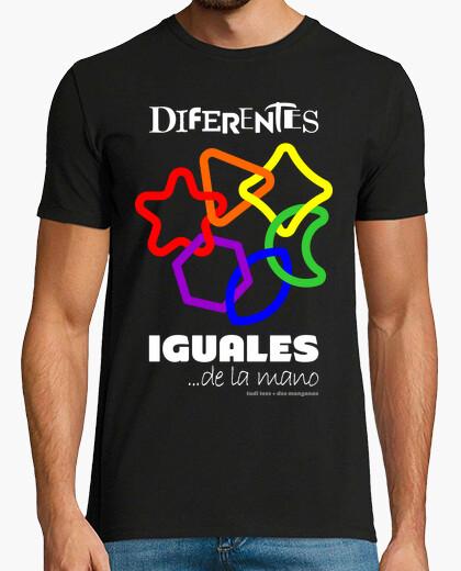 Camiseta Diferentes Iguales