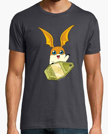 Tee-shirt Digimon Crest (Patamon)
