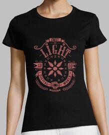 digital light - shirt woman