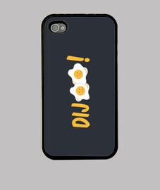 DIJOUS... toca t els ous - Funda iPhone 4