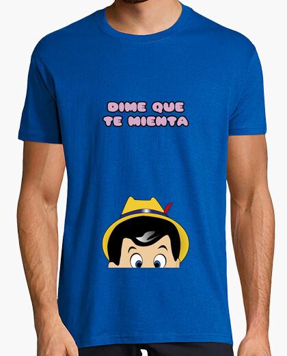 T-shirt Dimmi che menti