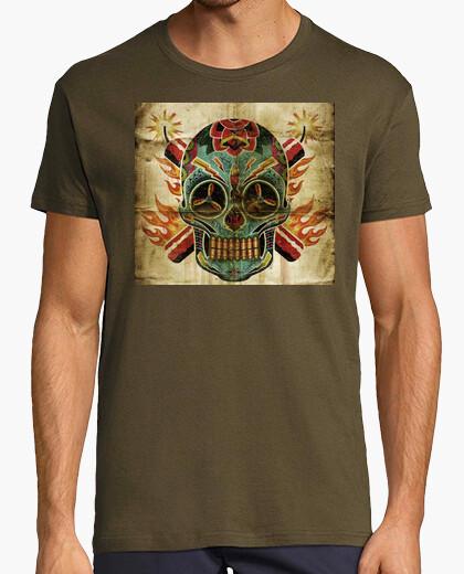 Camiseta Dinamite skull...