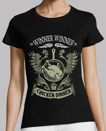 dîner de poulet