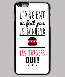 dinero no felicidad sino hamburguesas