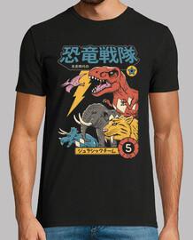 Dino Sentai Shirt Mens