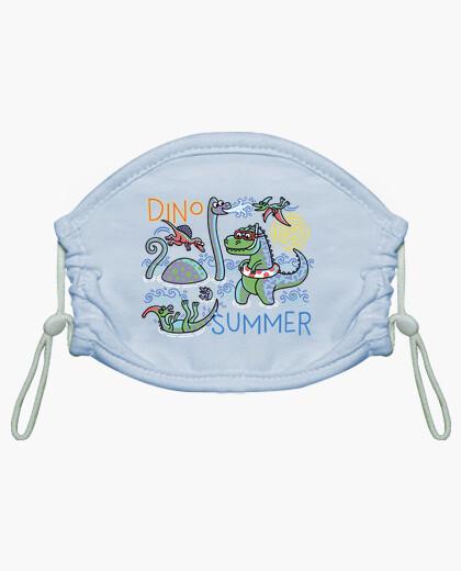 Mascarilla niño Dino Summer