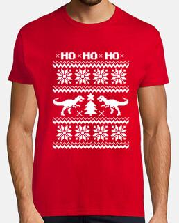 dino tee ugly christmas